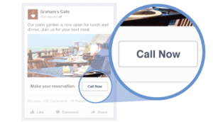 Facebook Advertising Call Now Button