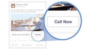 Facebook Advertising Call Now Button
